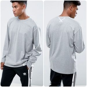 Adidas | X by O Grey Soft Long Sleeve T-Shirt
